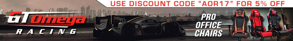 GT Omega Sponsors Apex Online Racing
