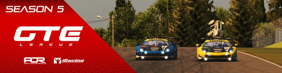 AOR iRacing - GTE - Season 5 - Apex Online Racing