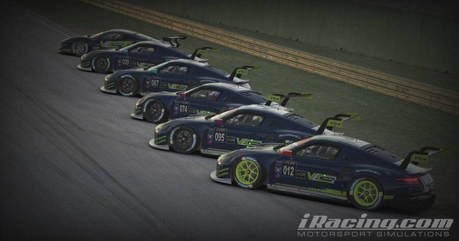 AOR iRacing GTE League Season 5 - Livery Showcase