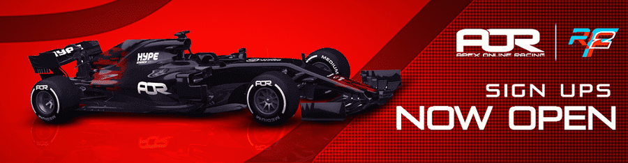 rFactor 2 F1 - Season 3 Signup and info | ApexOnlineRacing com