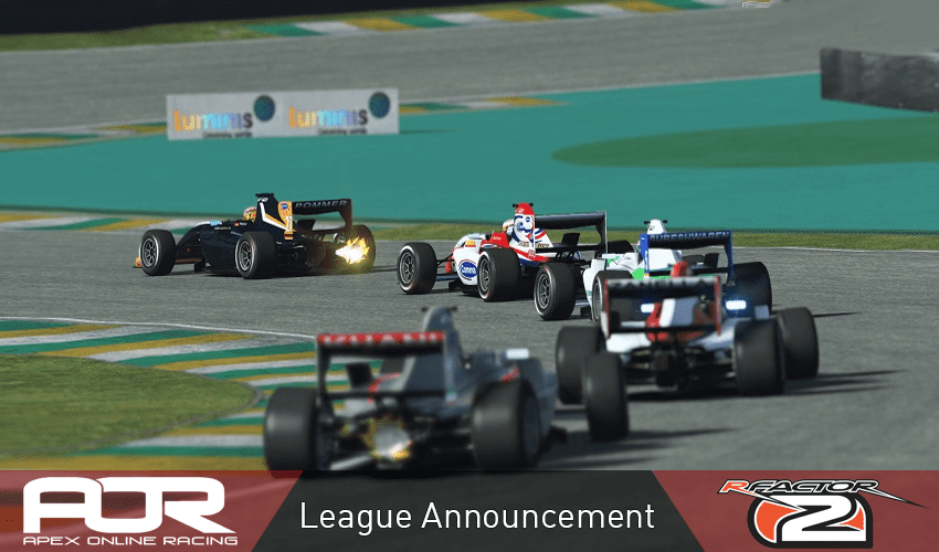 rFactor 2 Leagues Announcement and F2 League Interest Thread