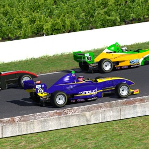 AOR Pro Mazda S2 - R5 Battle at the Back