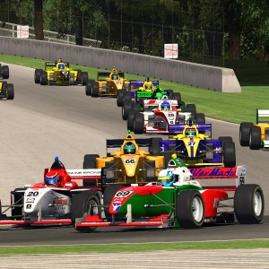 AOR Pro Mazda S3 - R5 Start Further Down