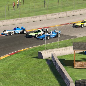 AOR Pro Mazda S3 - R5 Turn 5 Incident