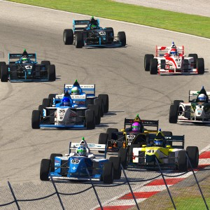 AOR Pro Mazda S3 - R9 Leaders at the Start