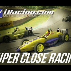 iRacing - Super closing racing in the Skip Barber at Okayama - YouTube