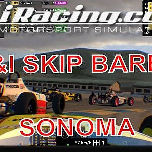 UK&I Skip Barber League Race at Sonoma with the Oculus Rift CV1 - YouTube