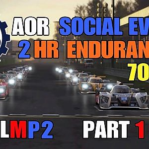 AOR 2HR ENDURANCE @MONZA GP / LMP2/ SPECIAL EVENT PART 1 - YouTube