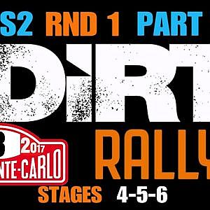 AOR DIRT RALLY LEAGUE S2/RND 1 @MONTE CARLO,STAGES 4-5-6 / PART 2 - YouTube