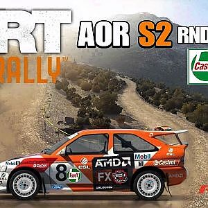 AOR DIRT RALLY LEAGUE S2/RND 3 @GREECE -STAGES 1-6 - YouTube