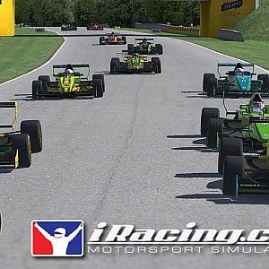 iRacing AOR Formula Renault 2 0 Championship onboard with commentary Round 23 - Road America - YouTube