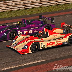 Team AOR Red and Purple HPD Liveries