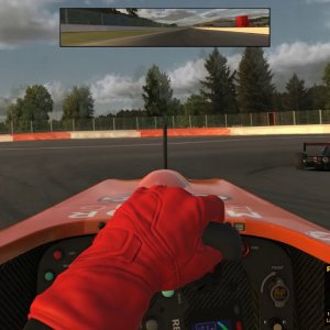 Double move setup on Eau Rouge and Raidillon FR2.0