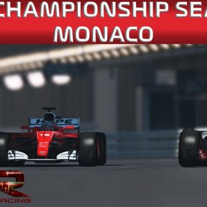 AOR rFactor 2 F1 League Season 2: Round 5 | Monaco