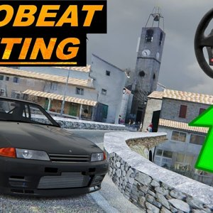 Assetto Corsa Wheel Gameplay - Touge Drifting With Eurobeat